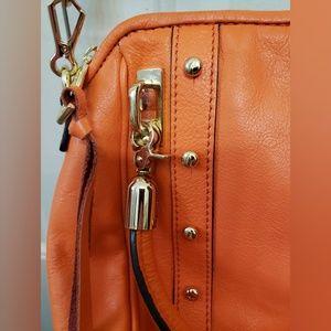 Rebecca Minkoff Bags - Rebecca Minkoff Orange Leather Hand/Shoulder Bag